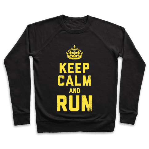 Keep Calm and Run (Dark) Pullover