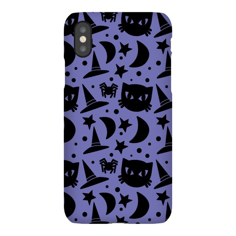 Witchy Halloween Pattern Phone Case