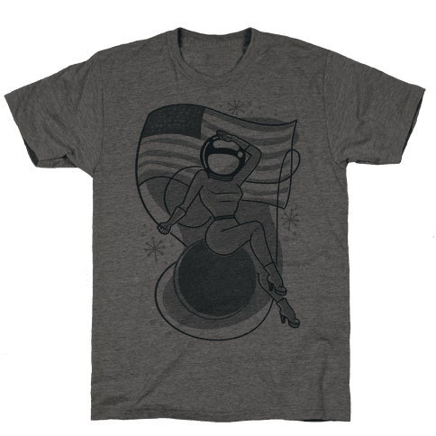 Moon Lady Mens T-Shirt