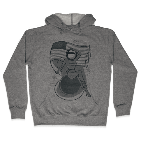 Moon Lady Hooded Sweatshirt