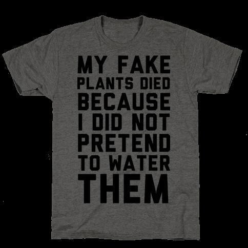 My Fake Plants Died