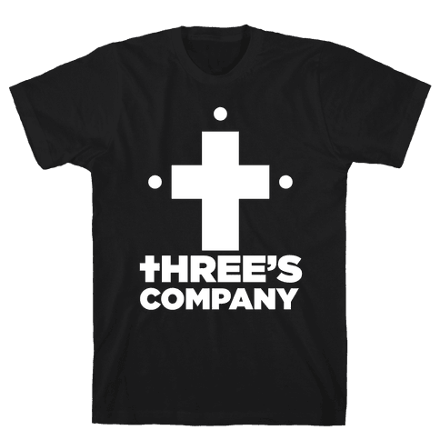 Three's Company Mens T-Shirt