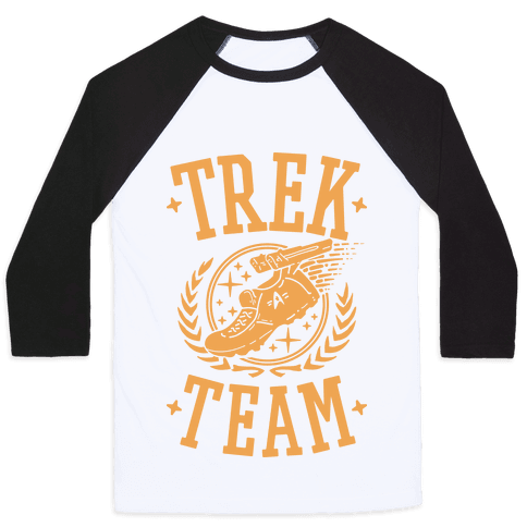 Trek Team Baseball Tee