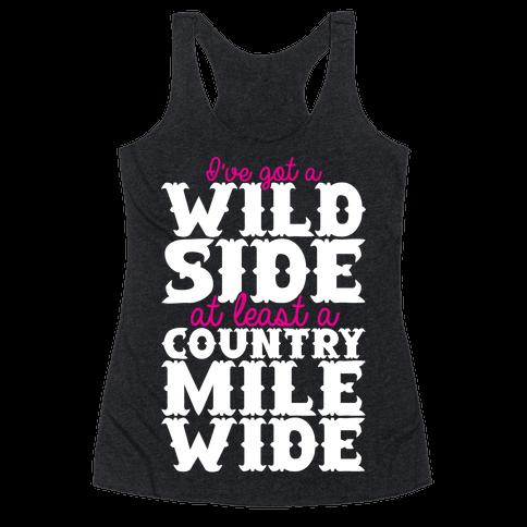 Wild Side Racerback Tank Top