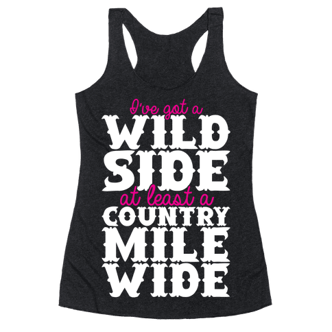 Wild Side Racerback Tank Top