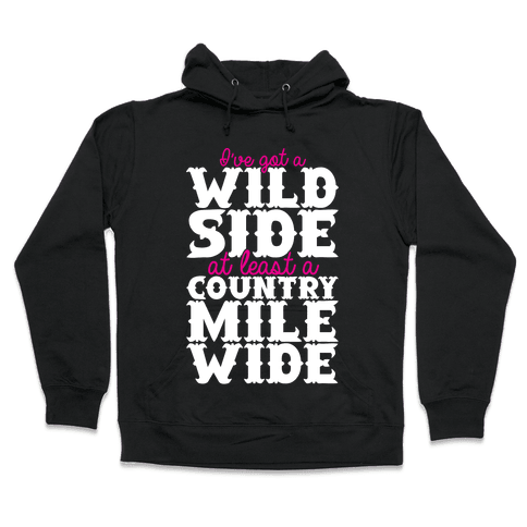 Wild Side Hooded Sweatshirt