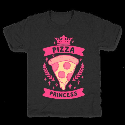 Pizza Princess Kids T-Shirt