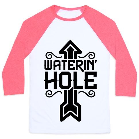 Waterin' Hole Baseball Tee