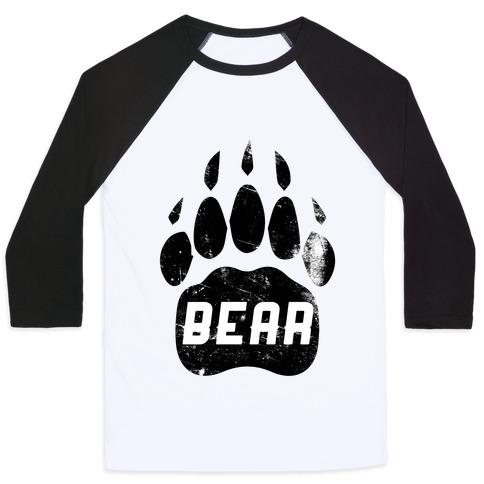 Bear Baseball Tee