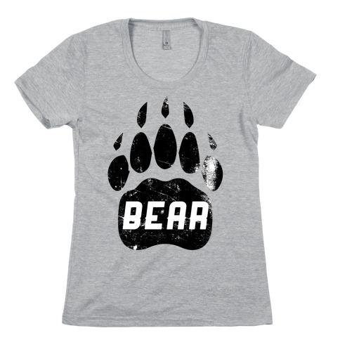 Bear Womens T-Shirt