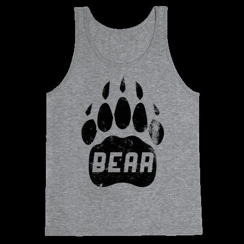 Bear Tank Top