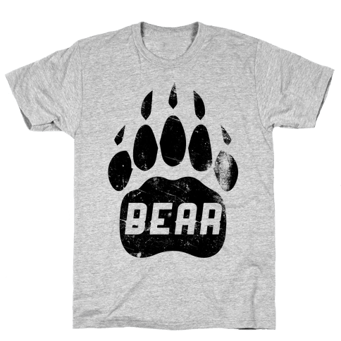 Bear Mens T-Shirt