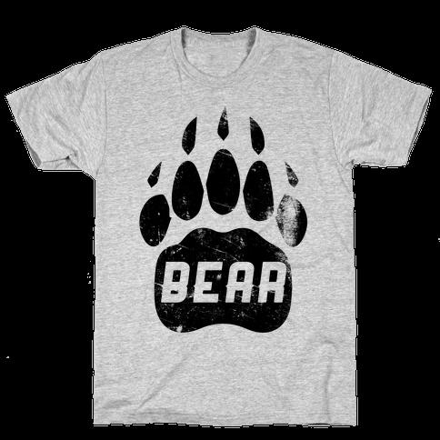 Bear Mens T-Shirt