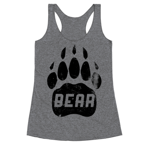 Bear Racerback Tank Top