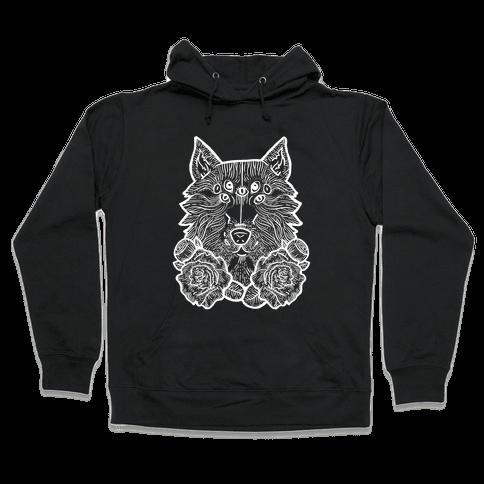 Seven Eyed Wolf Hooded Sweatshirt
