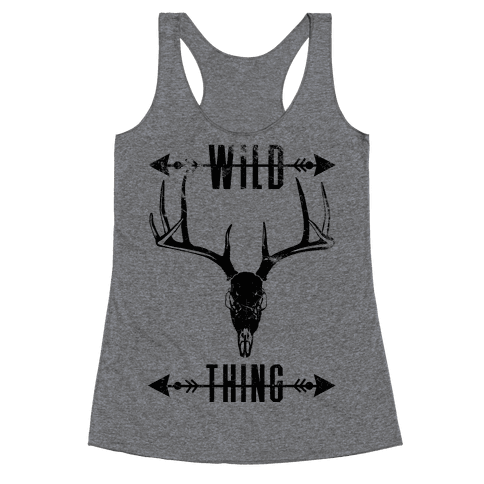 Wild Thing Racerback Tank Top