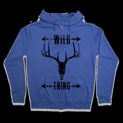 Wild Thing Zip Hoodie