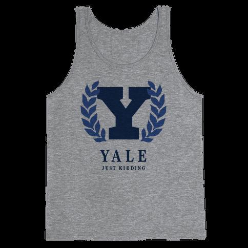 Yale (Just Kidding) Tank Top