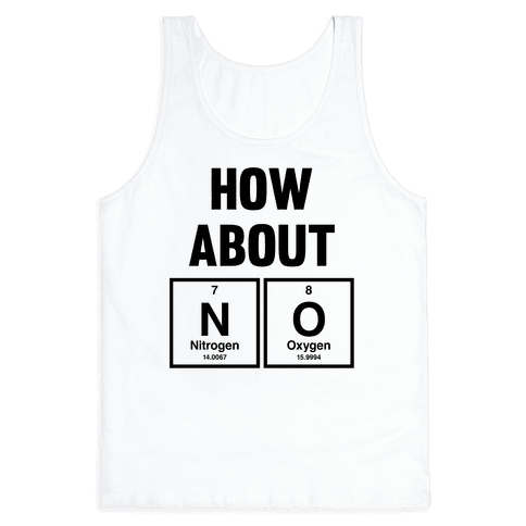 How About No (Chemistry) Tank Top