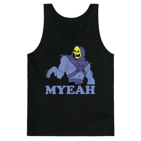 What's Goin' On? Couples Shirt (Skeletor) Tank Top