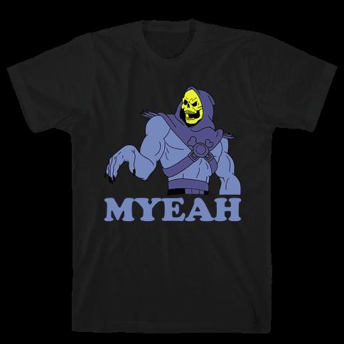 What's Goin' On? Couples Shirt (Skeletor) Mens T-Shirt