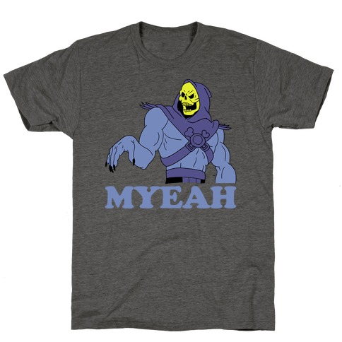 What's Goin' On? Couples Shirt (Skeletor) T-Shirt