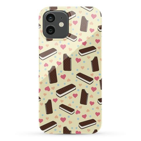 Ice Cream Sandwich Pattern Case Phone Case