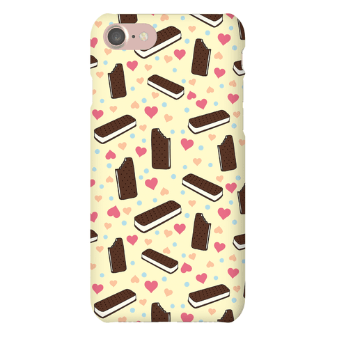 Ice Cream Sandwich Pattern Case