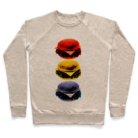 Primary Color Burgers Pullover