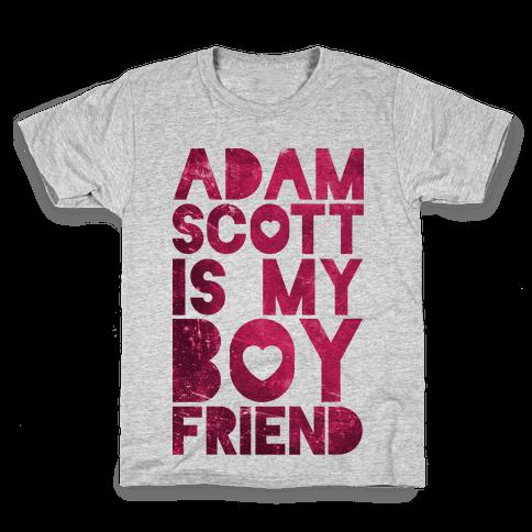 Adam Scott Is My Boyfriend Kids T-Shirt