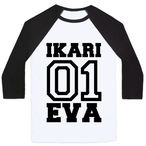 Ikari: Unit 01 Eva Baseball Tee