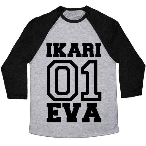 Ikari: Unit 01 Eva Baseball Tee