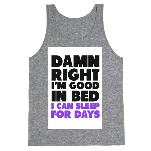 Good In Bed Tank Top