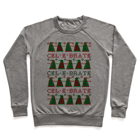 Dalek Ugly Sweater Pullover
