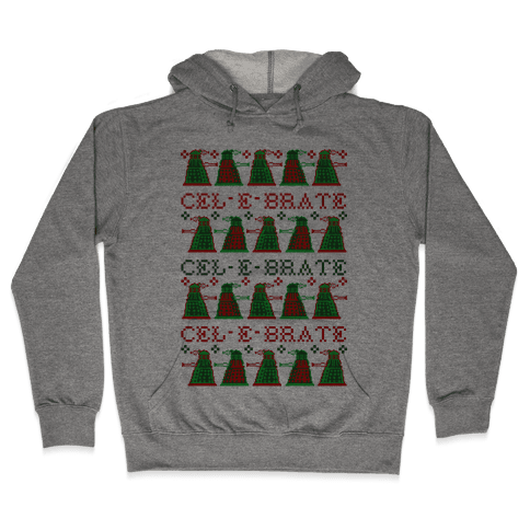 Dalek Ugly Sweater Hooded Sweatshirt