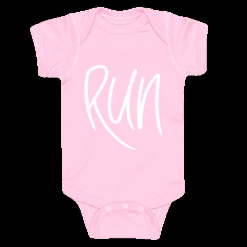 Run Baby Onesy