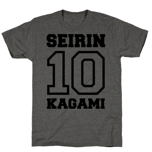 Seirin Number 10: Kagami Mens T-Shirt