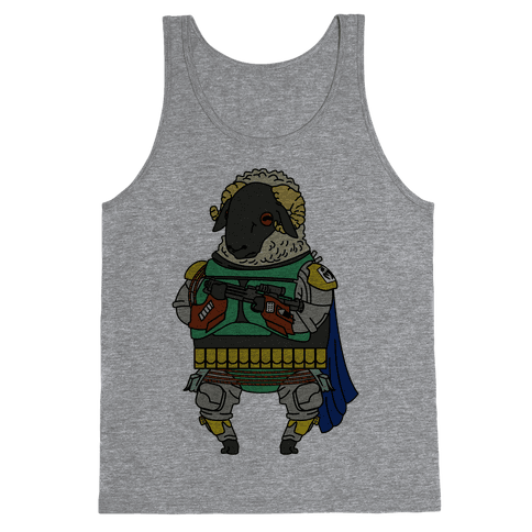 Boba Sheep Tank Top