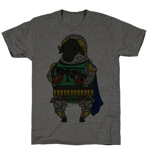 Boba Sheep Mens T-Shirt