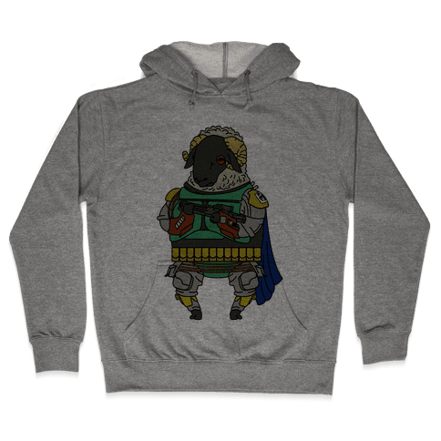 Boba Sheep Hooded Sweatshirt