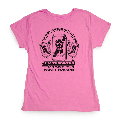 Exclusive Party Womens T-Shirt