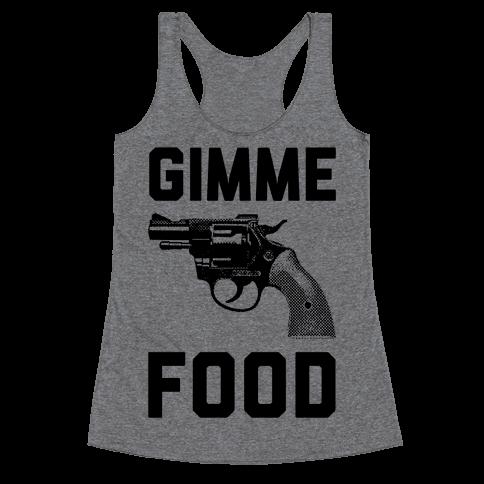 Gimme Food Racerback Tank Top