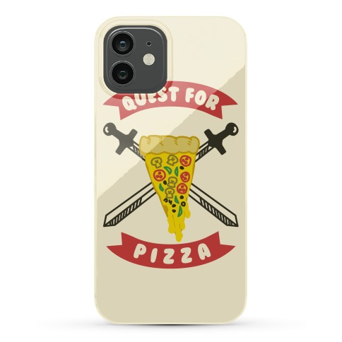 Quest for Pizza Phone Case