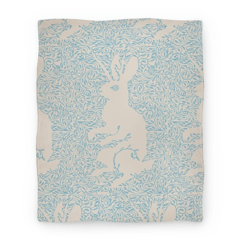 Hidden Jackalope Blanket Blanket