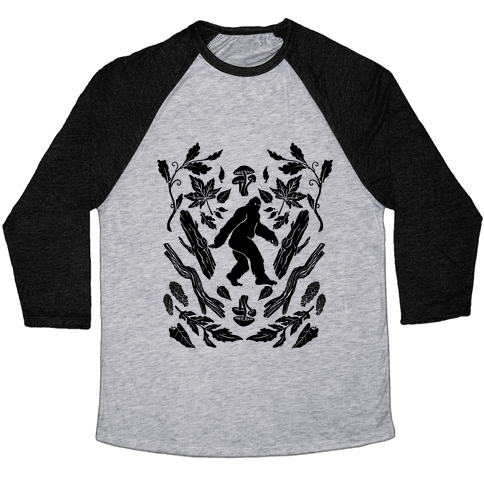 Sasquatch Sighting Baseball Tee