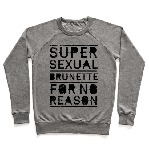 Super Sexual Brunette Pullover