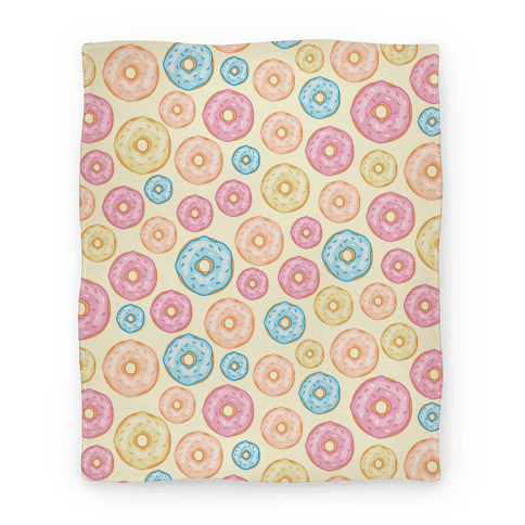 Donut Pattern Blanket