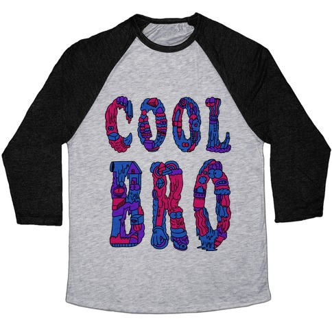 Cool Bro Baseball Tee
