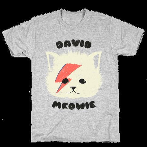 David Meowie Mens T-Shirt