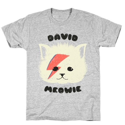 David Meowie Mens T-Shirt